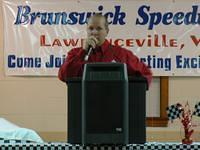 Banquet Emcee and Track Marshall Kent Baird