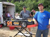 Ray Miller with Glenn Story from Franklin won 1st in Clone 400 6-25 in their Richard Noblit Motorsports-Colonial Auto Eclipse Galaxy kart