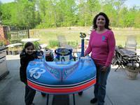 Menendez Mother-Daughter win in 1st races of 2012 season. Olivia in her 43 and her mom Tara in her 00. (photo by P. Malone)